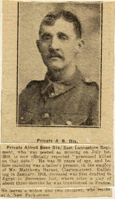 Profile picture for Alfred Boon Dix