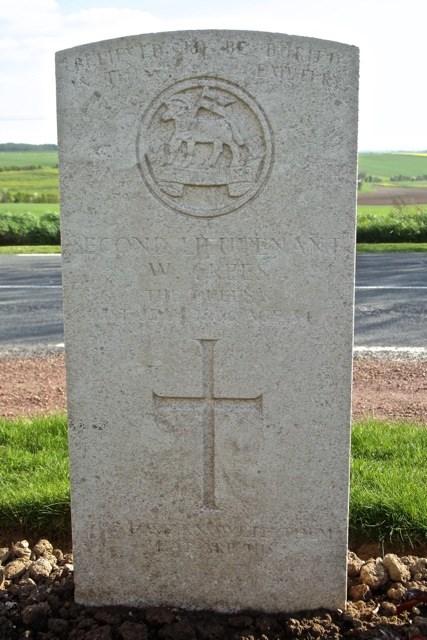 William Crees' Grave