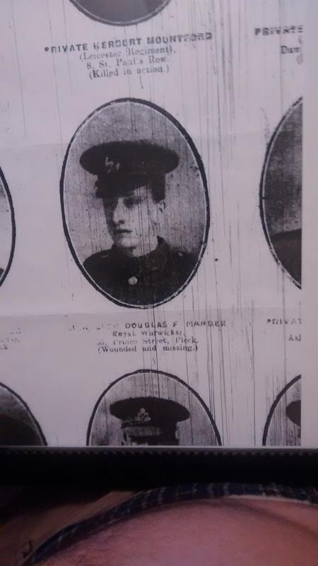 Profile picture for Douglas Frederick Mander
