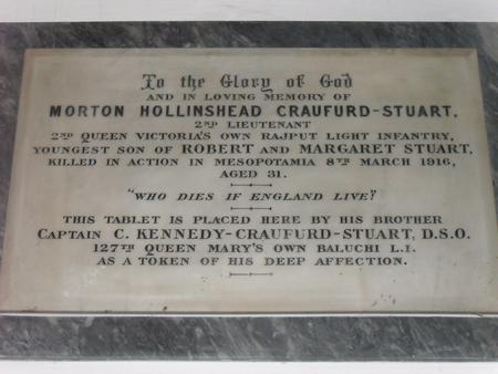 Profile picture for Morton Hollinshead Craufurd-Stuart