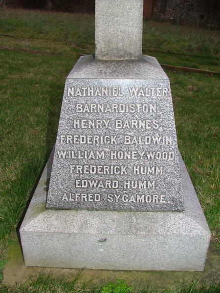 Major General Nathaniel Walter Barnardiston