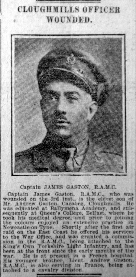 Profile picture for James Gaston