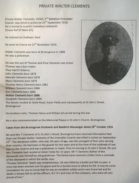 Details of Soldier
