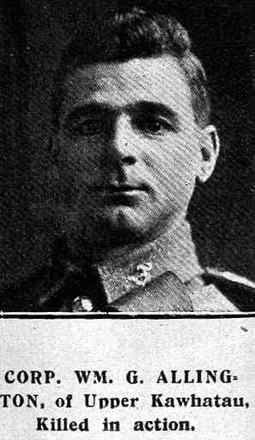 Profile picture for William George Allington