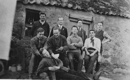 Group of WW1 conscientious objectors in Dartmoor