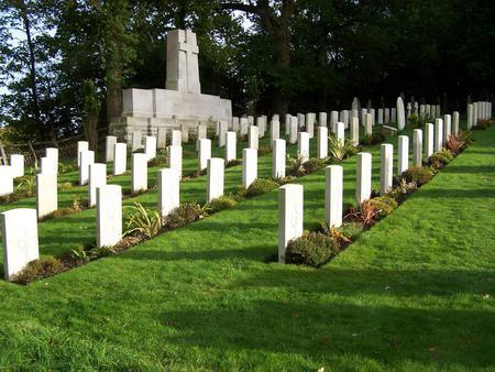 New Zealand Graves at Brockenhurst Hampshire
