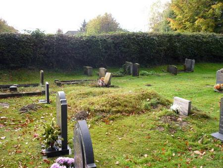 The unmarked graves of two Norfolk artists