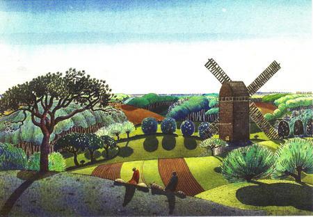"""Norfolk landscape"" by Claughton Pellew"