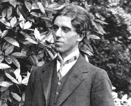 The artist Claughton Pellew, at Blackheath 1911