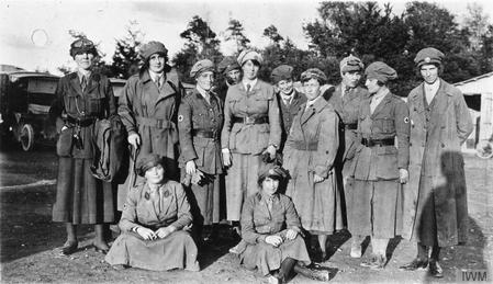 Members of the First Aid Nursing Yeomanry (FANY)