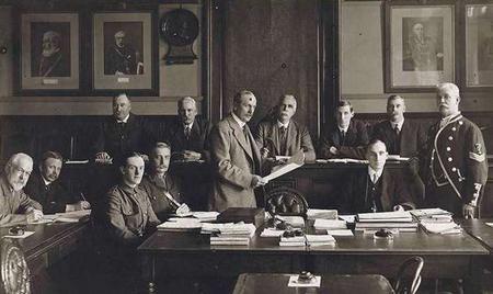 A Local Military Service Tribunal in 1916