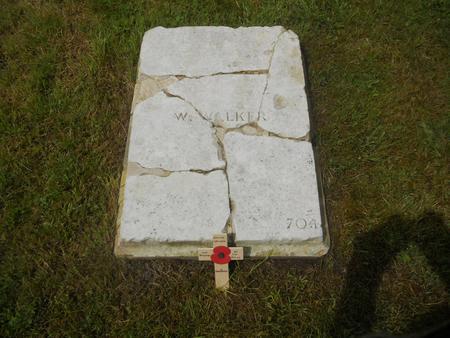 William Walkers Gravestone