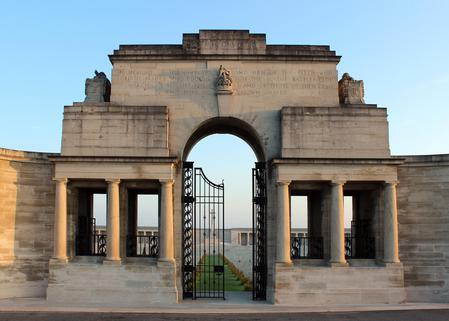 Pozier Memorial Gate.