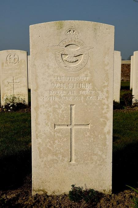 W H Stubbs headstone