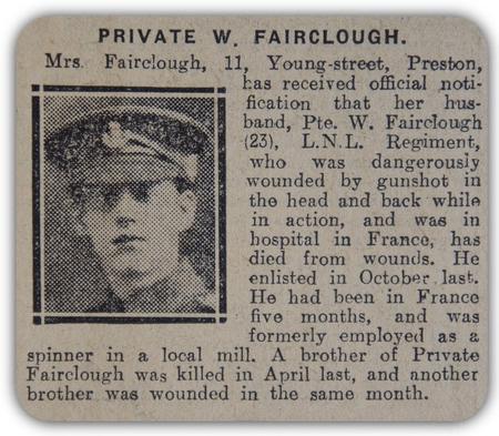 Profile picture for William Fairclough