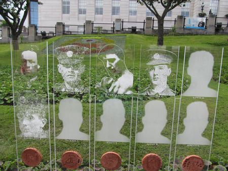 Somme Memorial Panel