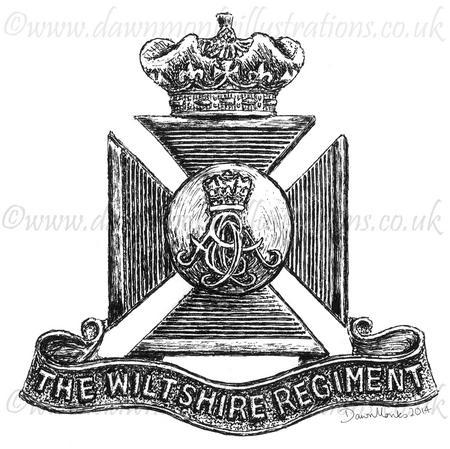 Wiltshire Regt. Badge