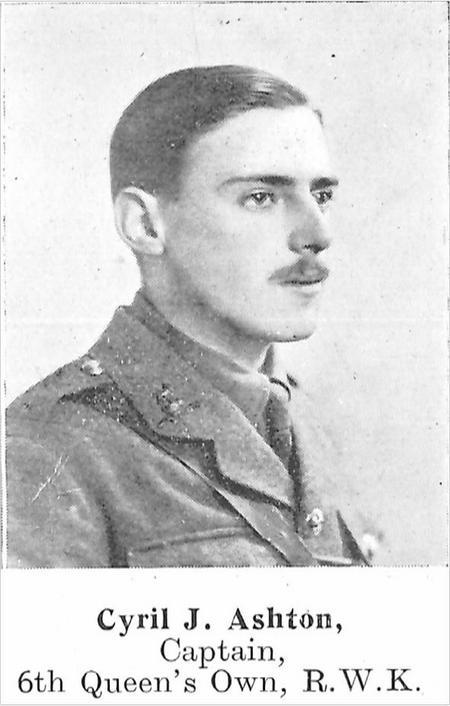 Profile picture for Cyril James Ashton