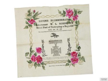 Commemorative Paper Napkin (IWM EPH 1469)
