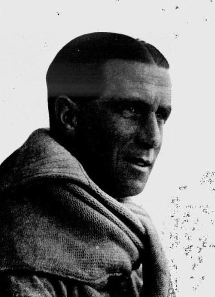 Portrait photograph of Johnny Douglas