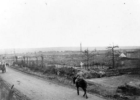 Cemetery Roclincourt, October 1917