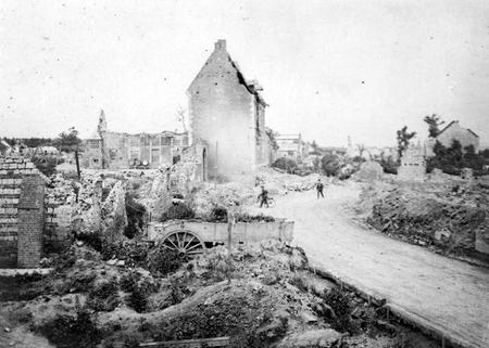 Ruins of Roclincourt, May 1917