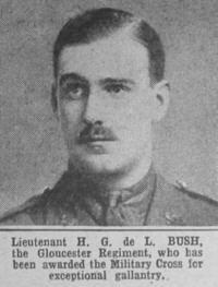 Profile picture for Hugh Godfrey De Lisle Bush