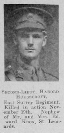 Profile picture for Harold Housecroft