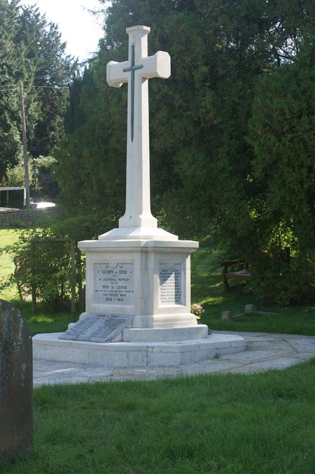 Loose Churchyard War Memorial