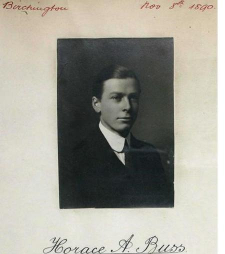 Profile picture for Horace Austen Buss