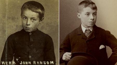 Barnardo's File Picture of Hebert John Ransom