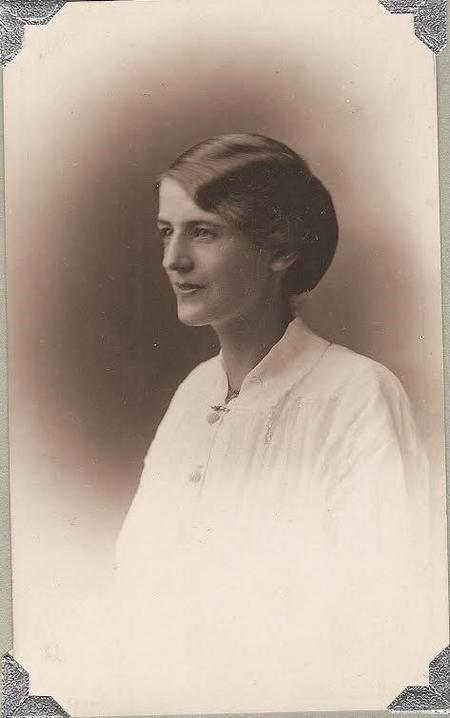 Amelia Brisley in 1917