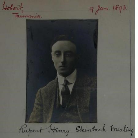 Profile picture for Rupert Henry Steinbach Mealing