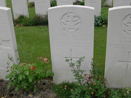 Alfred Spencer Butterworth's Gravestone