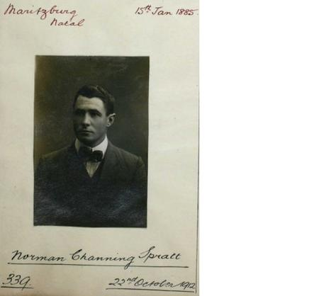 Profile picture for Norman Channing Spratt