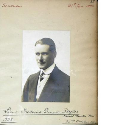 Profile picture for Frederick Ernest Styles