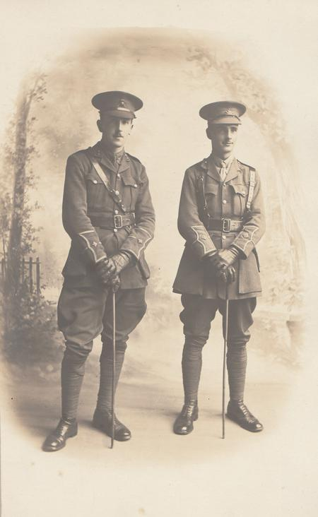 Brothers Henry and George Grant
