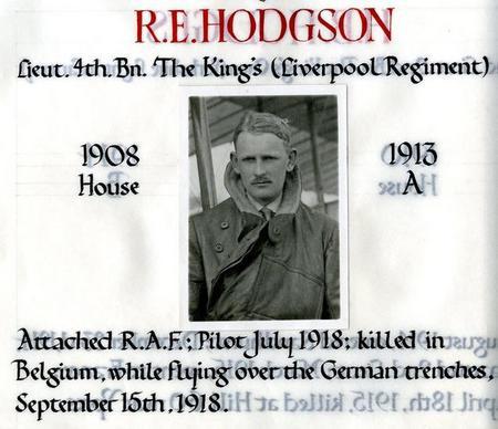 Profile picture for Richard Eveleigh Hodgson