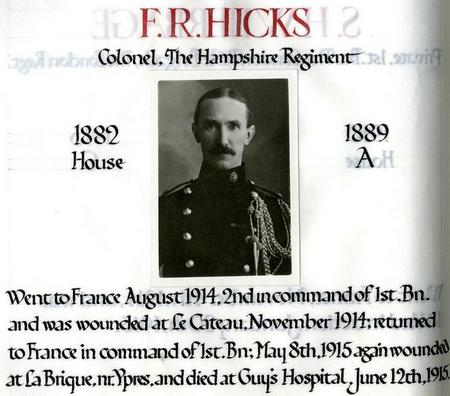 Profile picture for Frederick Richard Hicks