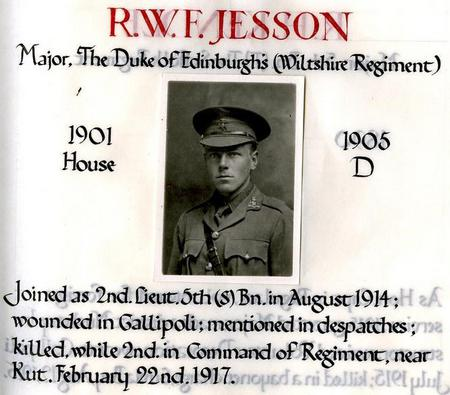 Profile picture for Robert Wilfred Fairey Jesson