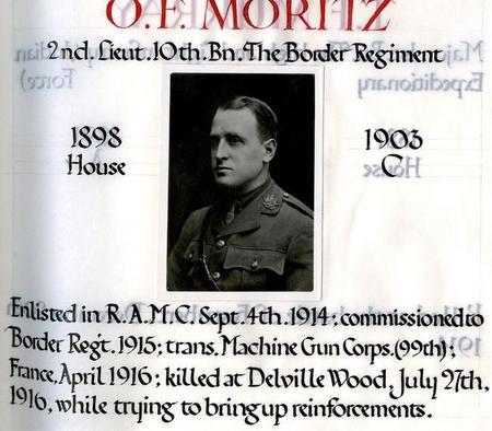 Profile picture for Oscar Frank Moritz