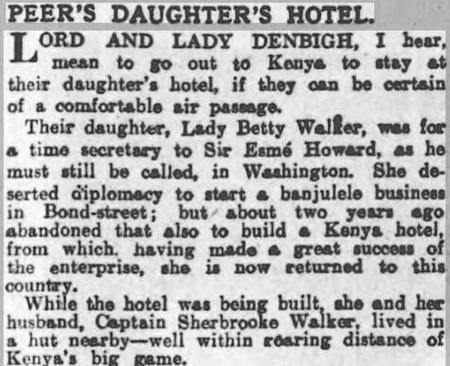 Peer's Daughter's Hotel