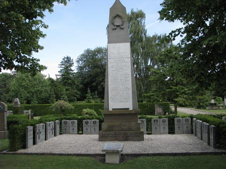 Obelisk commemoration in Copenhagen Western