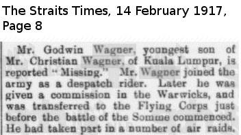 The Straits Times 14 February 1917