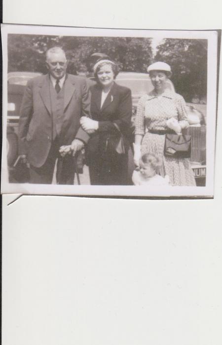 E.G Shepherd at Christening day for J.D Shepherd