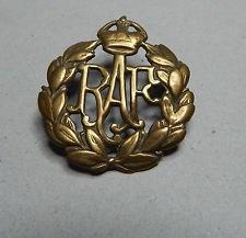 RAF WW1 Cap Badge