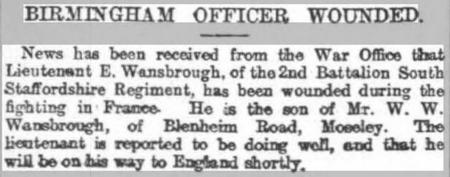 Birmingham Officer Wounded