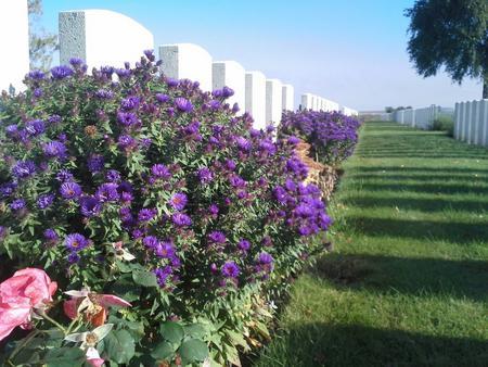 CWGC AIF Flers Cemetery