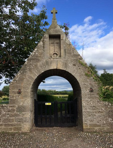 Dyke War Memorial, Morayshire  - Front View