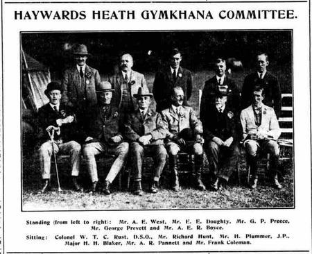 Haywards Heath Gymkhana Committee